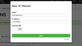 DNS Check 免费网站监测服务,每五分钟自动检查回传 DNS 纪录是否异动