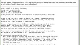 Linux 历史上 25 个里程碑事件回顾