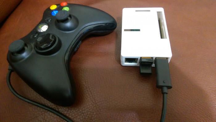 树莓派 II 安装 RetroPie + Xbox 360 摇杆变身游戏机