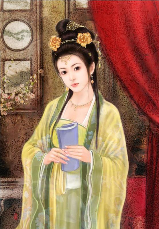 古装图 手绘