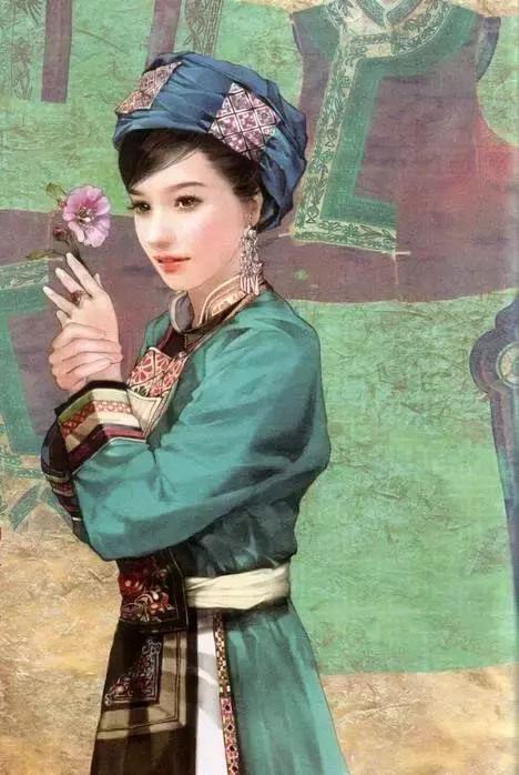 华夏56种民族服饰,56种风情