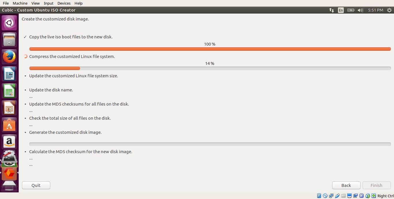 如何创建定制的 Ubuntu Live CD 镜像
